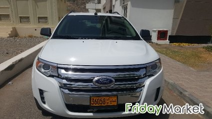 Expat used Ford Edge in Oman - FridayMarket