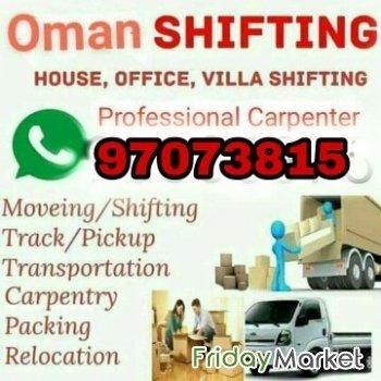 House shiffting in Oman - FridayMarket