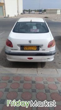 Peugot 206 Sedan Car Muscat Oman