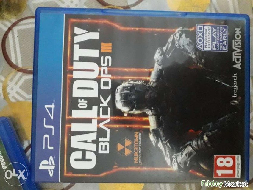 C.O.D Black Ops3 And Rocket League For Sell PS4 Muscat Oman