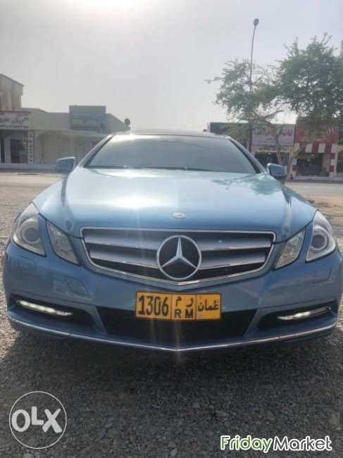 Mercedes E350 Very Clean : Lady Use Muscat Oman