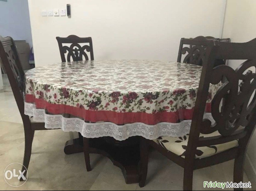 4 Chair Dining Table For Urgent Sale Muscat Oman