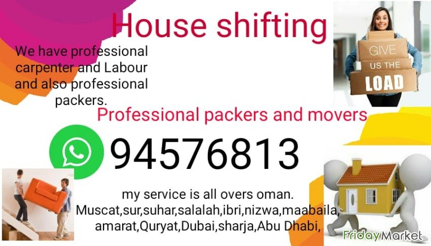 Muscat House Shifting And Transport Service Nizwa Oman
