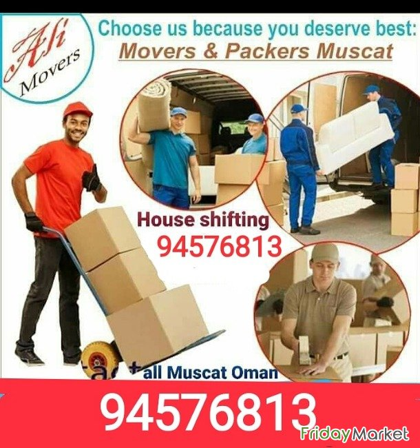 Professional Packers And Movers Muscat Oman
